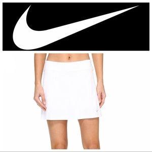 Nike Fit Dry White Skort